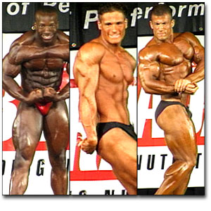 1998 NPC Teen/Collegiate Nationals Men's Prejudging
