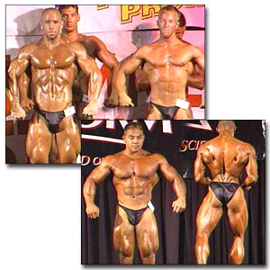 1999 NPC Teen/Collegiate Men's Prejudging