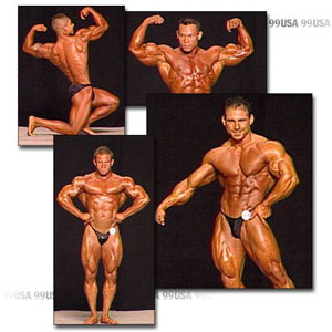 1999 NPC USA Men's Prejudging Part 1