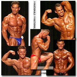 1999 NPC Nationals Men's Prejudging Part 1
