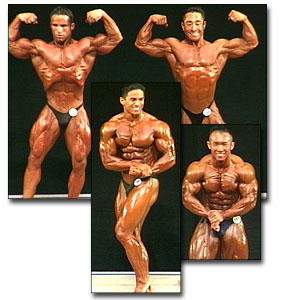 2000 NPC USA Men's Prejudging Part 1