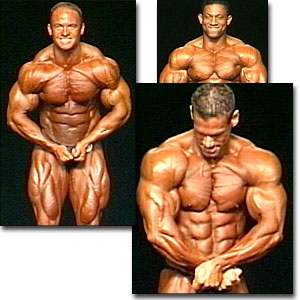 2000 NPC Nationals Men's Prejudging Part 2