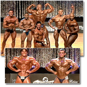 2006 Musclemania Superbody Men's Prejudging Part 1