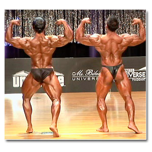 2006 Musclemania Superbody Men's Prejudging Part 2