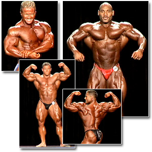 2007 NPC National Bodybuilding Championships Men's Prejudging Part 2