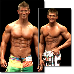 2011 NPC National Championships Men's Physique Prejudging