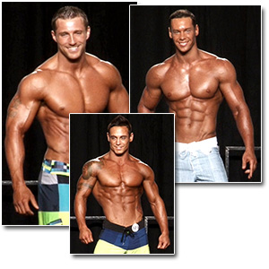 2012 NPC Junior Nationals Men's Physique Prejudging
