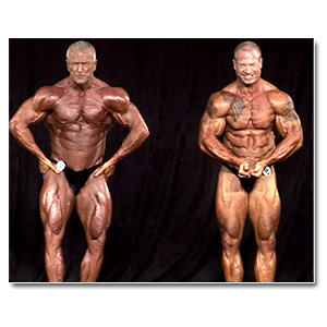 2012 NPC Masters Nationals Men's Bodybuilding Prejudging (Over 50/60/70)