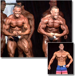 2012 NPC Masters Nationals Men's Bodybuilding & Physique Prejudging (Over 35/40)