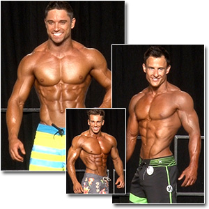 2013 NPC Junior Nationals Men's Physique Prejudging