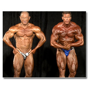 2013 NPC Masters Nationals Men's Bodybuilding Prejudging (Over 50/60/70)