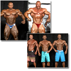 2013 NPC Masters Nationals Men's Bodybuilding & Physique Prejudging (Over 40)