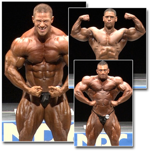 2013 NPC National Championships Men's Bodybuilding Prejudging Part 2
