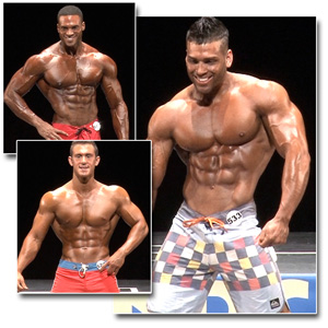 2013 NPC National Championships Men's Physique Prejudging
