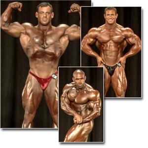 2014 NPC Nationals Men's Bodybuilding Prejudging Part 2
