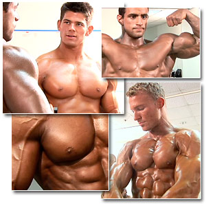 2006 Musclemania Superbody Men's Pump Room Part 2