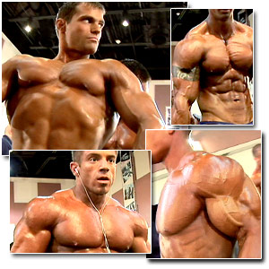 2006 NPC National Bodybuilding Championships Men's Pump Room Part 1