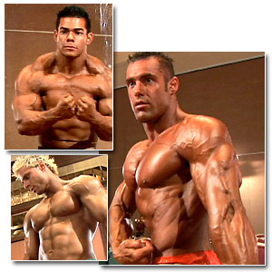 2006 Musclemania World Championships Men's Pump Room Part 3