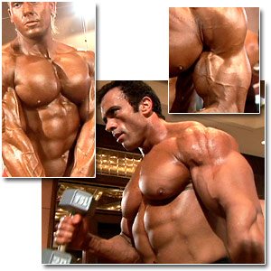 2006 Musclemania World Championships Men's Pump Room Part 4