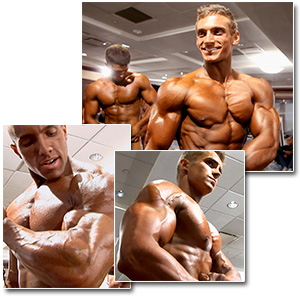 2012 NPC Teen Nationals Men's Pump Room