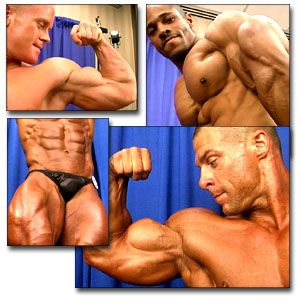 2000 NPC Junior Nationals Men's Backstage Posing Posing Part 1