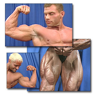 2001 NPC Junior Nationals Men's Backstage Posing Part 1