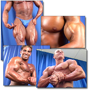 2001 NPC Teen/Collegiate Nationals Men's Backstage Posing Part 2