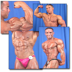 2001 NPC Nationals Men's Backstage Posing Part 1