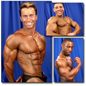 2003 NPC Junior National Championships Men's Backstage Posing Part 1