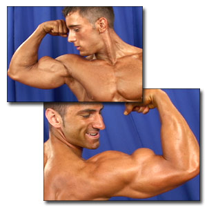 2003 NPC Teen & Collegiate Nationals Men's Backstage Posing Part 1