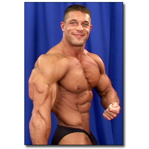 2003 NPC Junior National Championships Men's Backstage Posing Part 3