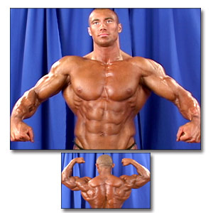 2003 NPC USA Championships Men's Backstage Posing Part 3