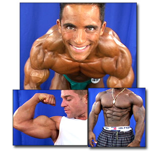 2003 NPC National Championships Men's Backstage Posing Part 1