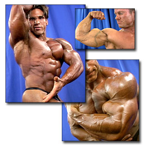 2003 NPC National Championships Men's Backstage Posing Part 2