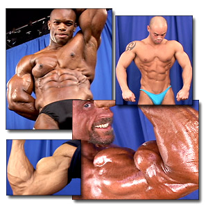 2004 NPC Junior USA Men's Backstage Posing