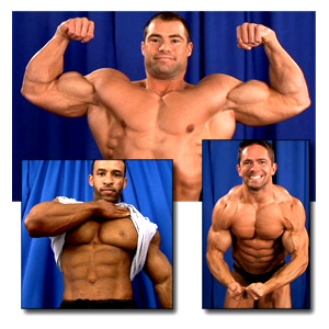 2005 NPC Junior National Championships Men's Backstage Posing Part 1