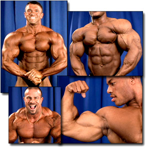 2005 NPC Junior National Championships Men's Backstage Posing Part 3