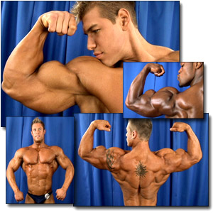 2005 NPC Teen & Collegiate National Championships Men's Backstage Posing Part 2