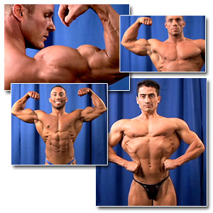2006 NPC Junior National Championships Men's Backstage Posing Part 1