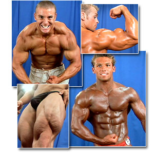 2006 NPC Teen & Collegiate National Championships Men's Backstage Posing Part 2