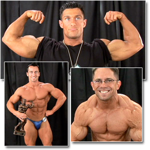 2007 NPC Junior National Championships Men's Backstage Posing Part 1