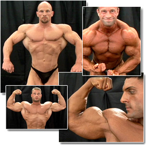 2007 NPC Junior National Championships Men's Backstage Posing Part 2