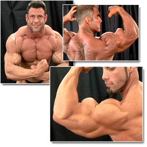 2007 NPC Junior National Championships Men's Backstage Posing Part 3