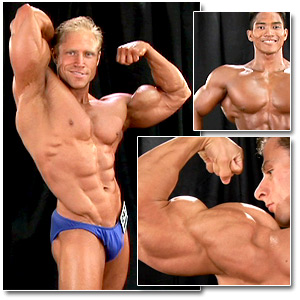 2007 Musclemania Superbody Championships Men's Backstage Posing Part 2