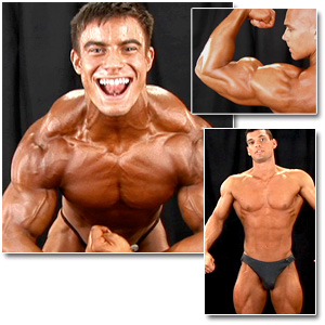 2007 NPC Teen & Collegiate National Championships Men's Backstage Posing Part 1