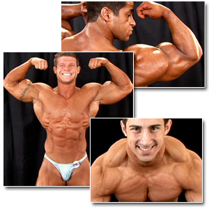 2007 NPC Teen & Collegiate National Championships Men's Backstage Posing Part 2