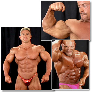 2007 NPC Masters National Bodybuilding Championships Men's Backstage Posing 2