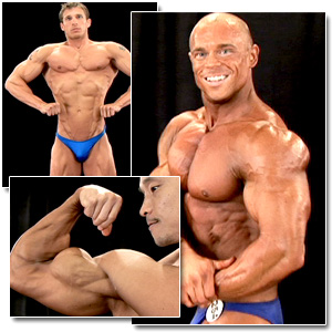 2008 NPC Junior National Championships Men's Backstage Posing Part 1