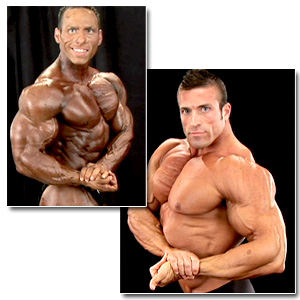 2008 NPC Junior National Championships Men's Backstage Posing Part 3