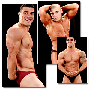 2008 NPC Teen & Collegiate National Championships Men's Backstage Posing 1